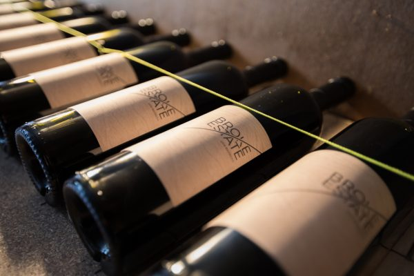 Labelling of 2016 Broke Estate Wine