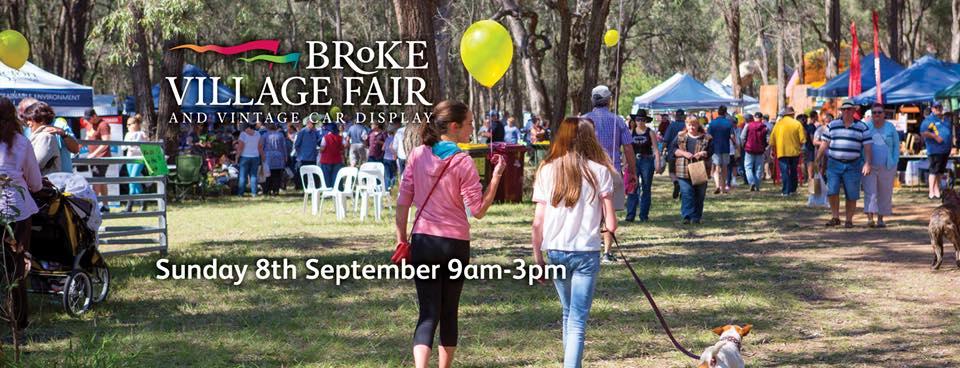 Broke Village Fair Hunter Valley Events