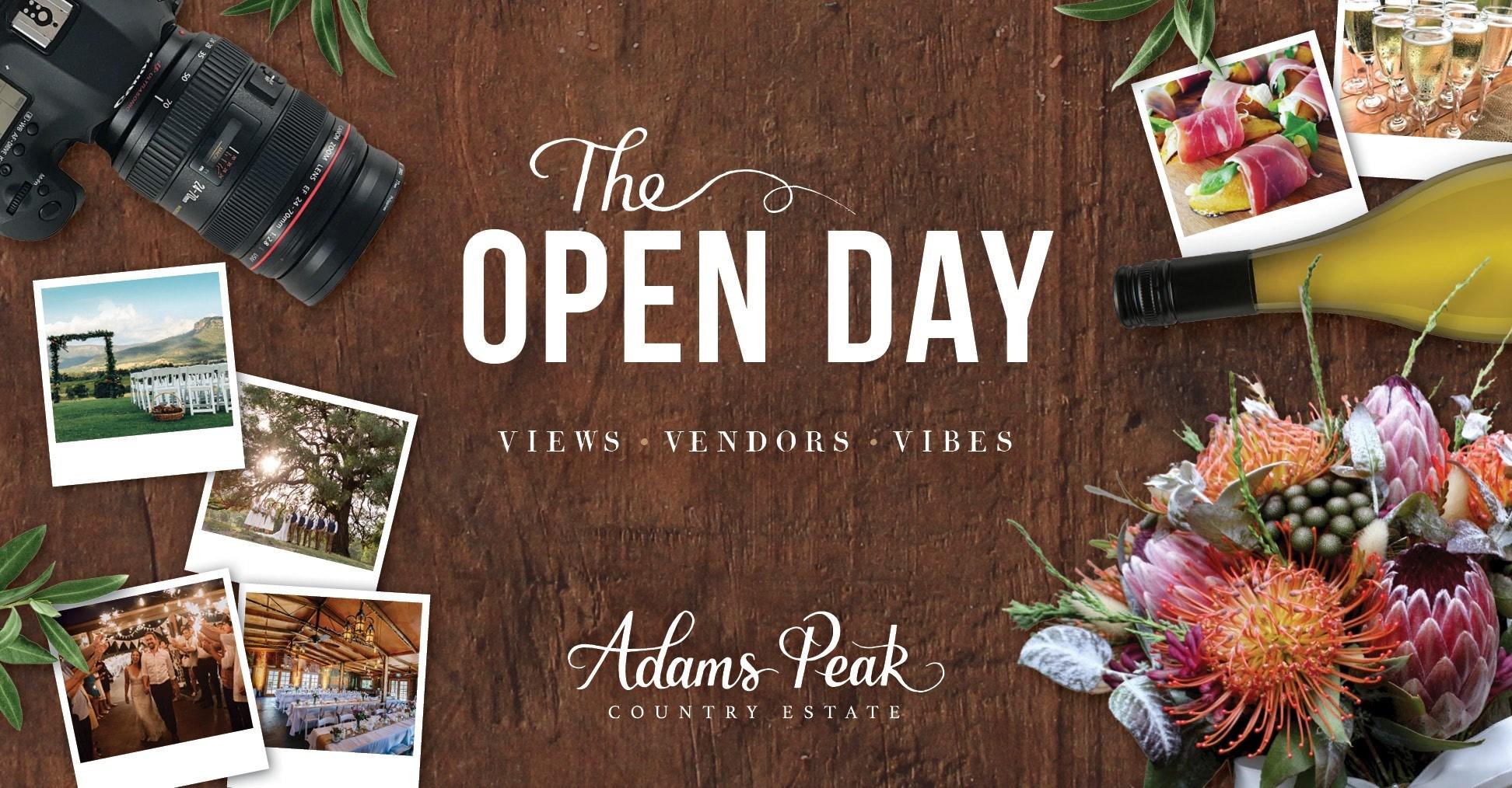 Adams Peak Open Day Hunter Valley Events