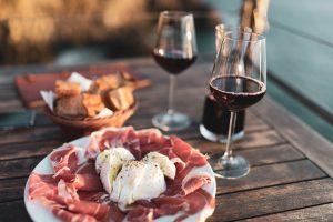 Shiraz Anitpasto Food and Wine Pairing Hunter Valley Broke Estate