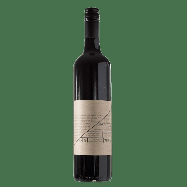 Broke Estate 2016 Barbera Bottle Back Label