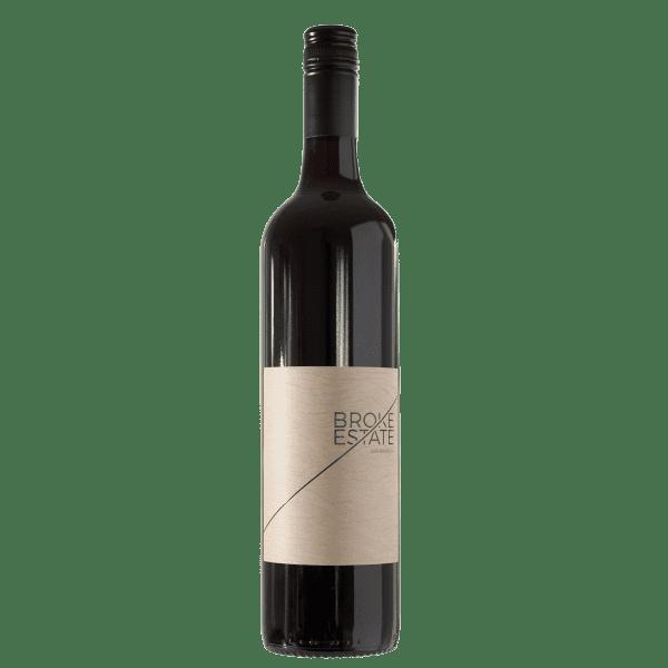 Broke Estate 2016 Barbera Bottle Front Label